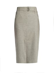 Max Mara Natura Skirt Light Grey