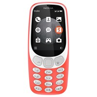Nokia 3310 Mobile Phone 64Mb 3G 2.4 Qvga Warm Red
