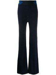 Missoni High Waisted Trousers Blue