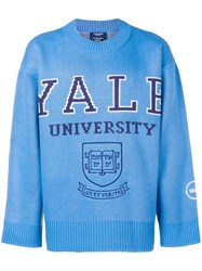 Calvin Klein 205W39nyc Yale University Sweater Blue