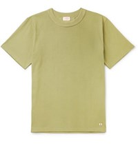 Armor Lux Slim Fit Cotton Jersey T Shirt Green