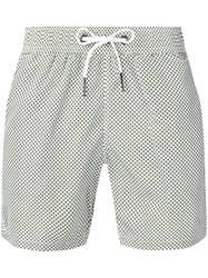 Rrd Printed Swim Shorts White