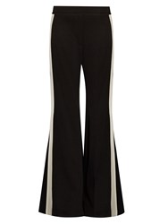 Ellery Lovedolls High Rise Flared Trousers Black