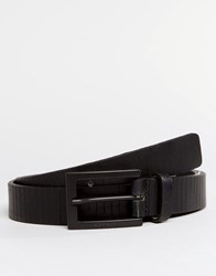 Esprit Belt Slim Leather Black