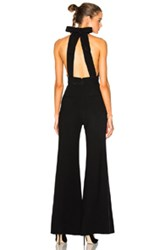 Roksanda Ilincic Ruscha Heavy Day Tailoring Jumpsuit In Black