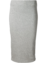 James Perse High Waist Skirt Grey