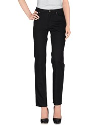 Krizia Jeans Trousers Casual Trousers Women Black