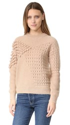 Intropia Textured Sweater Nude