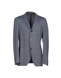 S.O.H.O New York Soho Suits And Jackets Blazers Men Dark Blue