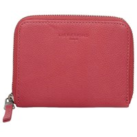Liebeskind Conny Cocami F8 Leather Zip Around Purse Coral