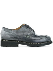 Paraboot Chunky Sole Derby Shoes Grey