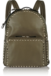 Valentino Rockstud Leather Backpack