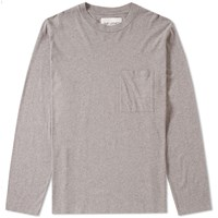 Our Legacy Long Sleeve Box Tee Grey