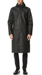 Stutterheim Stockholm Long Raincoat Black