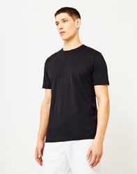 Sunspel Q82 Short Sleeve T Shirt Black