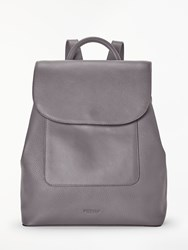 Modalu Alice Leather Backpack Slate Grey