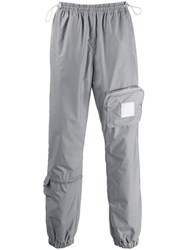 Misbhv Utility Reflective Trousers Grey
