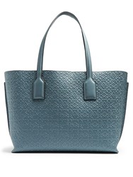 Loewe T Leather Tote Light Blue