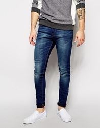 New Look Jeans In Super Skinny Fit Navy