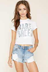Forever 21 Rare Breed Holographic Tee