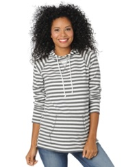 Motherhood Maternity Striped Hoodie