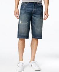 Sean John Men's Denim Shorts Dunlap Wash