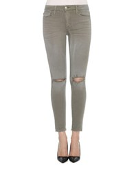 Joe's Jeans Cotton Blend Olive Green