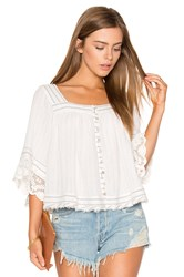 Free People See Saw Top White