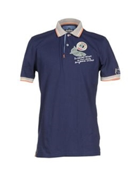 Tortuga Polo Shirts Dark Blue