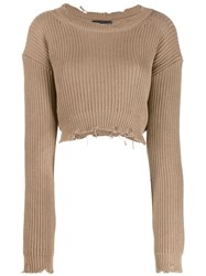 Dsquared2 Distressed Knitted Logo Jumper 60