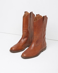 Maison Martin Margiela Line 22 Western Boot Brown
