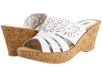 Spring Step Dora White Women's Wedge Shoes