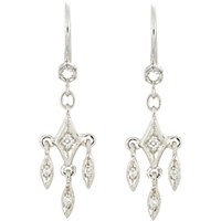 Cathy Waterman Women's Fringe Drop Earrings No Color