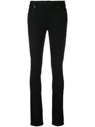 Joseph Skinny Trousers Black