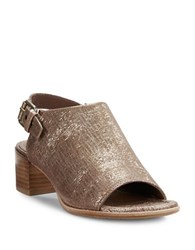 Donald J Pliner Mazie Mules Light Bronze