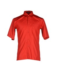 Christopher Kane Shirts Shirts Men Red