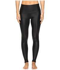 Onzie High Rise Leggings Shiny Black Women's Casual Pants