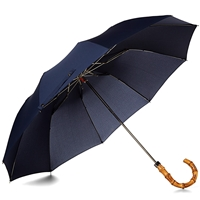 London Undercover Whangee Telescopic Umbrella Navy