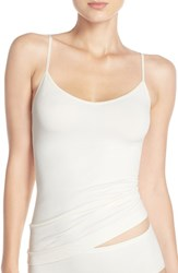 Nordstrom Women's Lingerie Two Way Seamless Camisole Ivory Pristine