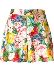 Kenzo Vintage Flower Print Shorts Multicolour