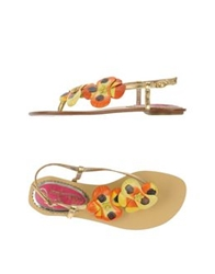 Poetic Licence Thong Sandals Silver