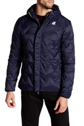 K Way Georges Light Thermo Jacket Blue