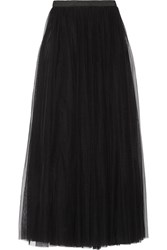 Needle And Thread Tulle Maxi Skirt Black