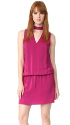 Amanda Uprichard Sleeveless Amaretto Dress Cranberry