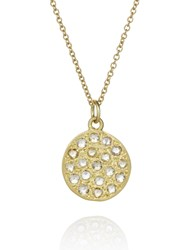 Brooke Gregson Mini Mars Necklace Gold