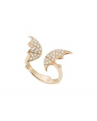 Stephen Webster Fly By Night Split Wing Diamond Ring In 18K Gold