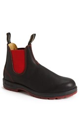 Blundstone Men's Footwear Chelsea Boot Black Red Gore