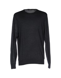 Henry Smith Sweaters Steel Grey