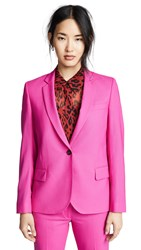 Paul Smith Single Button Blazer Fuchsia