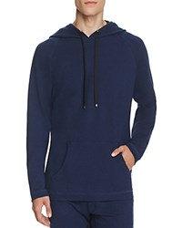 Naked French Terry Hoodie Dress Blues